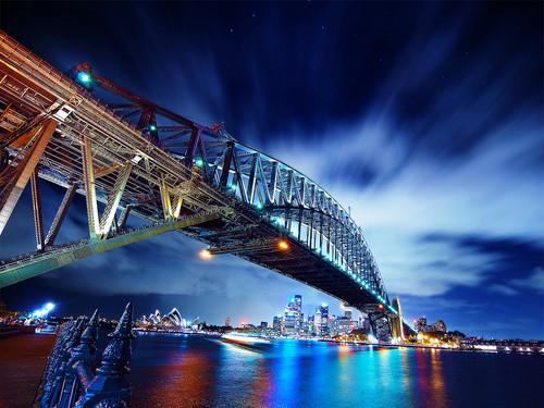 Australia achtergrond entitled Sydney