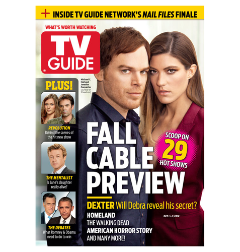 TV Guide Magazine September 2012