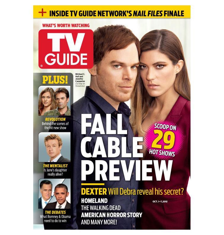 TV Guide Magazine September 2012