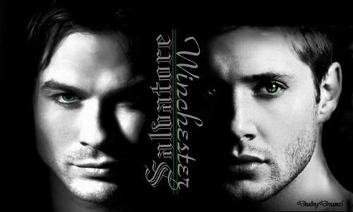 TVD/SPN - Damon & Dean