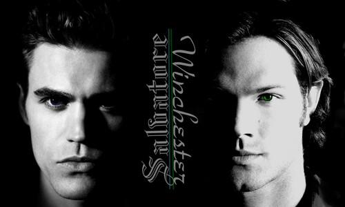 TVD/SPN - Stefan & Sam