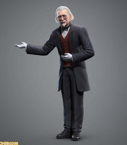 Tekken wallpaper containing a business suit, a well dressed person, and a suit entitled Tekken Tag 2 new Characters - Sebastian