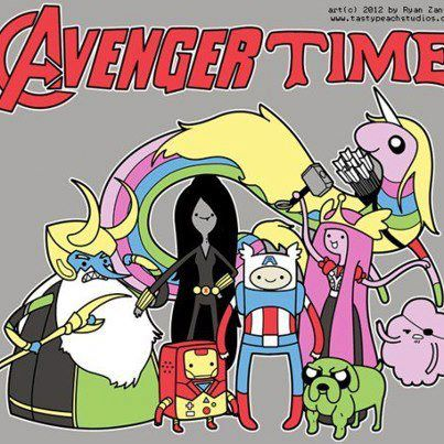 The Avengers wallpaper with anime titled The Avengers Fan Art