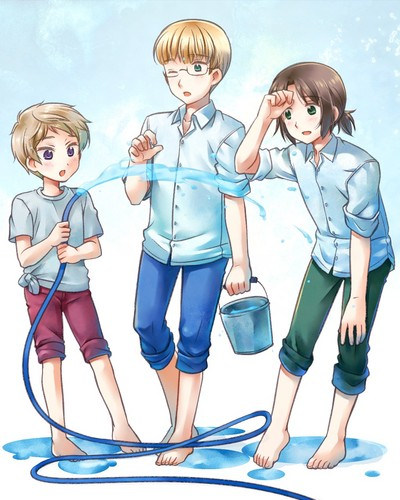 The Baltic States - hetalia Photo