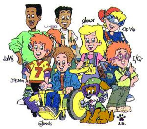 The 90s wallpaper with Anime entitled The Burger King Kids Club