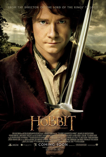 The Hobbit: An Unexpected Journey Bilbo Baggins Poster