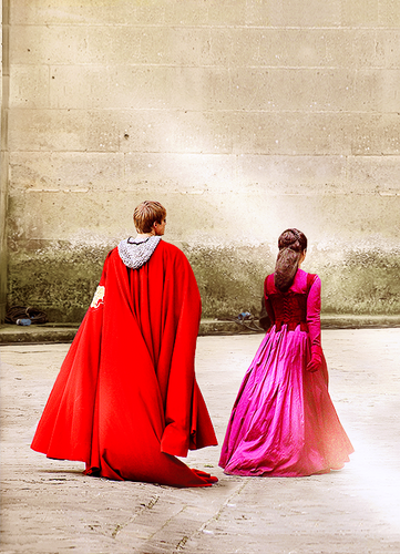 The King and क्वीन of Camelot
