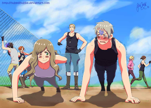The Manliest Character in hetalia - axis powers