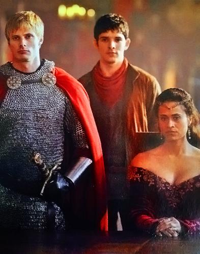 The OT3 - Arthur, Guinevere, Merlin