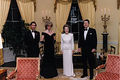 The Royal Family With President And First Lady, Nancy Reagan - the-80s photo