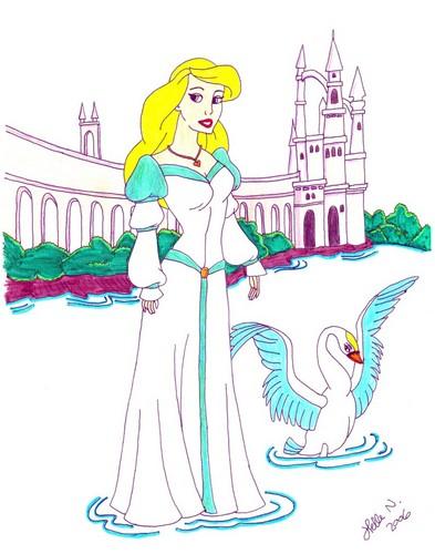 The cygne Princess
