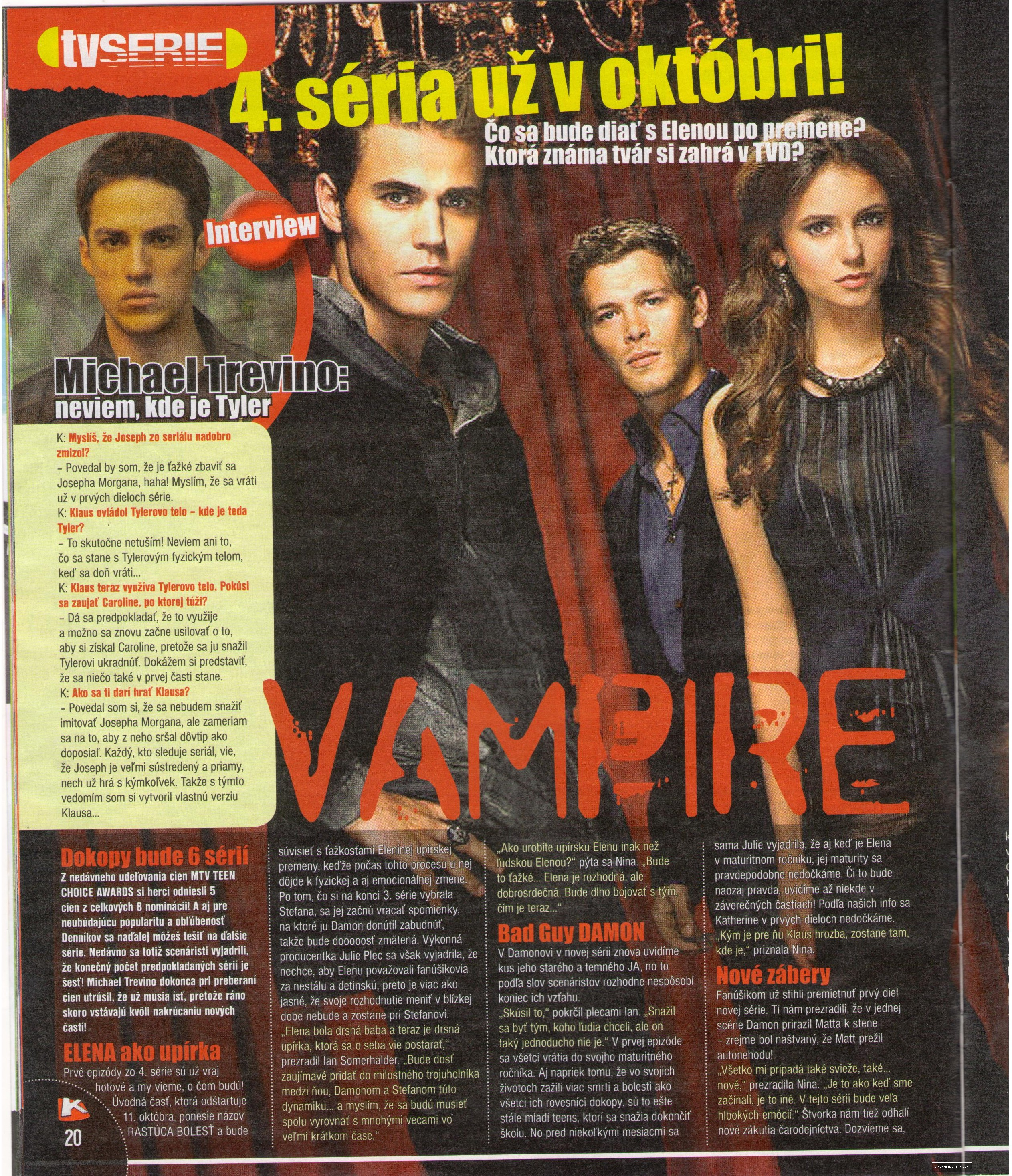 The Vampire Diaries - Magazine Scans - Kamarát