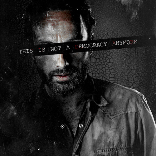 The Walking Dead Hintergrund titled Rick Grimes