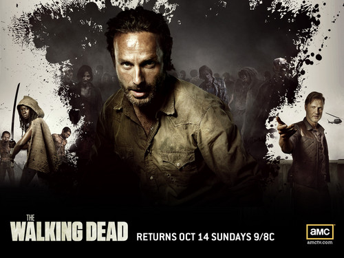 The Walking Dead wallpaper possibly containing a fountain and anime entitled The Walking Dead