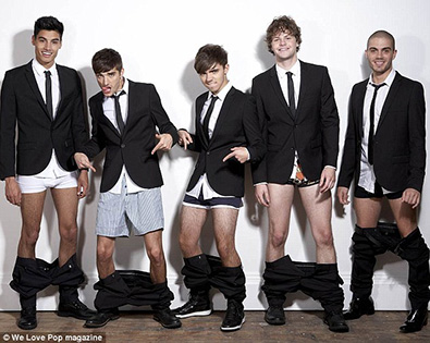 The Wanted Who has the best legs :)