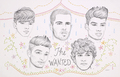 The Wanted Drawing  - the-wanted fan art