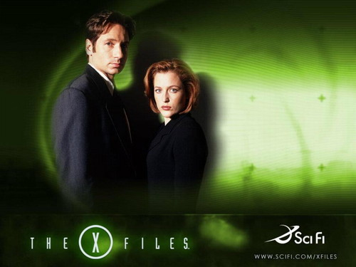 The X-Files wallpaper probably with a portrait entitled The X-Files