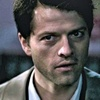 Castiel चित्र probably containing a business suit, a judge advocate, and a portrait entitled The monster at the end of this book