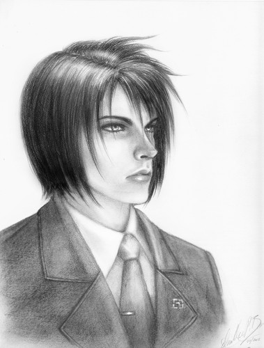 Vincent Valentine वॉलपेपर with a business suit entitled Those Days Agone