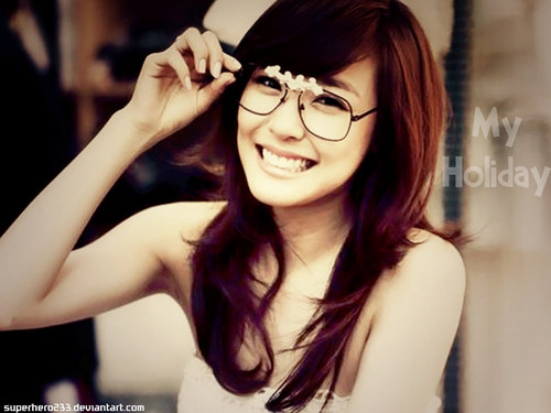 Tiffany Hwang fondo de pantalla possibly with a portrait titled Tiffany