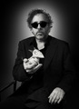 Tim with Sparky - tim-burton photo