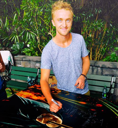 Tom Felton wallpaper containing a barbecue and a steak entitled Tom Fan Art