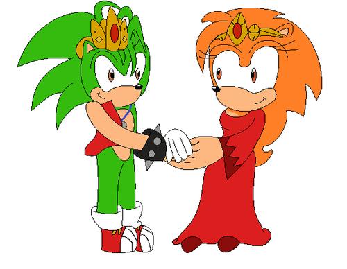 Topaz and Manic hedgehog