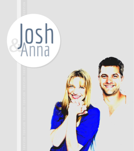 Anna Torv and Joshua Jackson দেওয়ালপত্র with a portrait called Torvson সম্পাদনা ♥