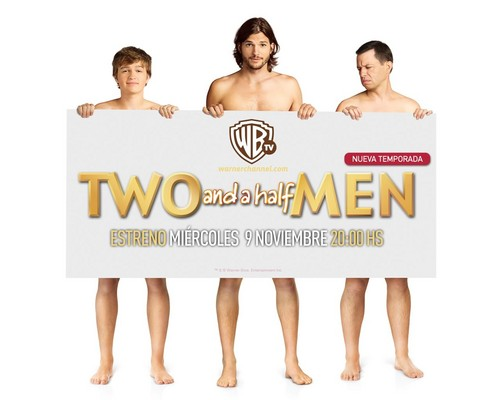 Two and a Half Men kertas dinding