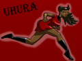 Uhura - zoe-saldana-as-uhura wallpaper