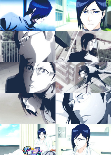 Uryū's faces (Fullbring) ^-^