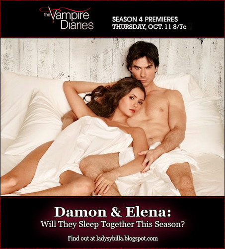 Vampire Diaries Season 4: Will Damon & Elena Sleep Together?