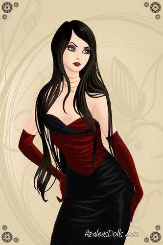Velvet Goth Girl