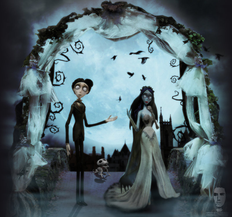 Victor & Emily - Corpse Bride Fan Art (32269926) - Fanpop