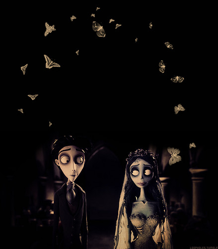 Corpse Bride wallpaper called Victor & Emily