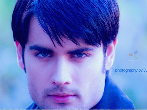 Vivian Dsena karatasi la kupamba ukuta possibly containing a portrait called Vivian Dsena