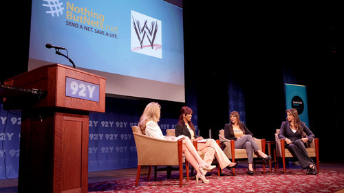 WWE joins forces with Nothing But Nets at the Social Good Summit