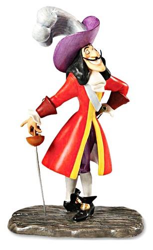 Walt Дисней Figurines - Captain James Bartholomew Hook