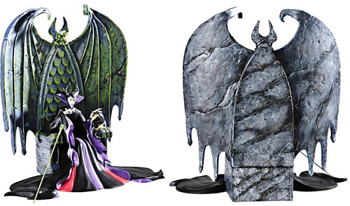 Walt Disney Figurines - Maleficent & Diablo