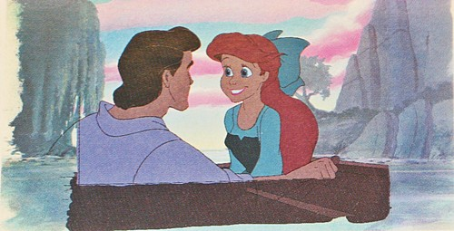 Walt disney Production Cels - Prince Eric & Princess Ariel