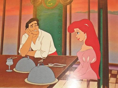 Walt Disney Production Cels - Prince Eric & Princess Ariel