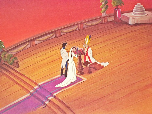 Walt Disney Production Cels - Prince Eric, Vanessa & The Priest