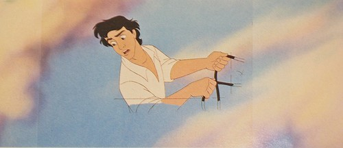 Walt Дисней Production Cels - Prince Eric