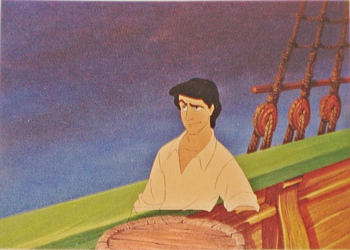 Walt Disney Production Cels - Prince Eric