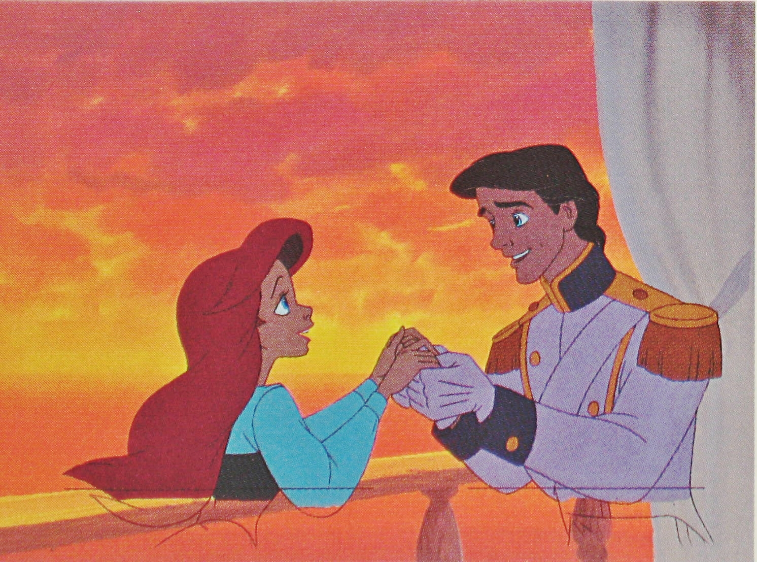 Pin Ariel Production Cel The Little Mermaid Photo 18762684 ...