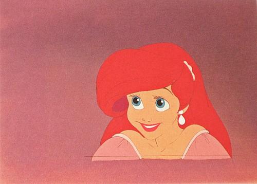Walt 디즈니 Production Cels - Princess Ariel