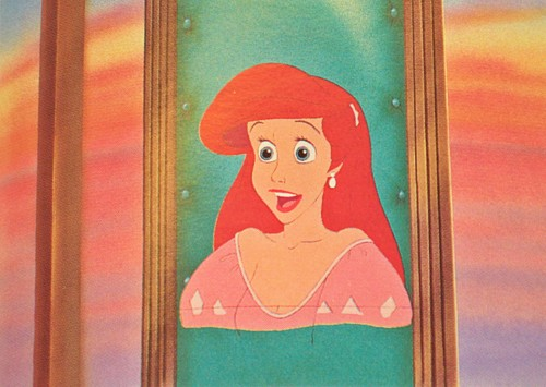 Walt Дисней Production Cels - Princess Ariel