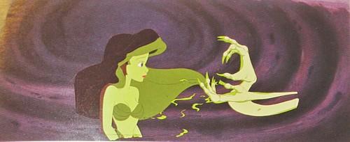 Walt ディズニー Production Cels - Princess Ariel