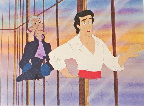 Walt Disney Production Cels - Sir Grimsby & Prince Eric