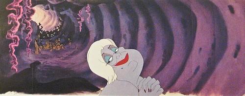 Walt 디즈니 Production Cels - Ursula